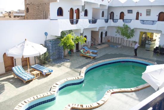 Dahab Plaza Hotel: The pool area