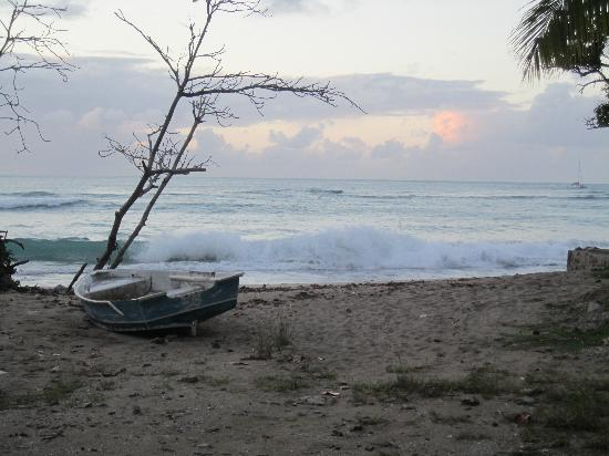 Brewers Bay Campground : Dinghy by the office