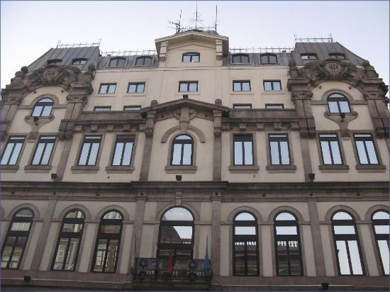 Hotel da Bolsa: Hotel da  Bolsa façade detail