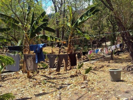 Apoyo Lodge: Laundry day!