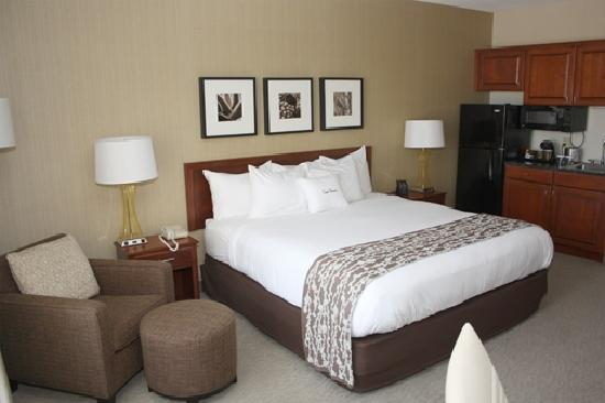DoubleTree Club by Hilton Hotel Buffalo Downtown: Deluxe King
