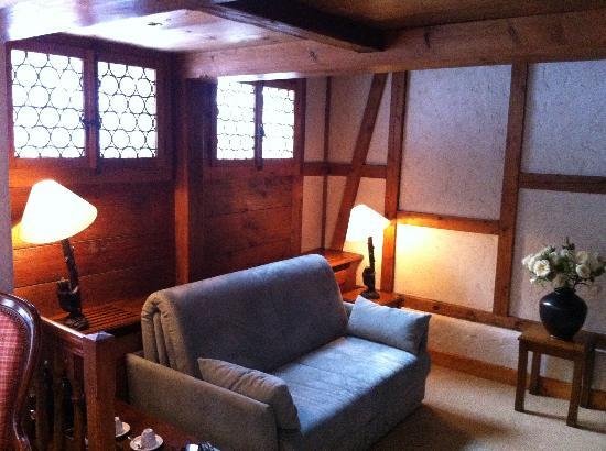 Hotel Olden: living room