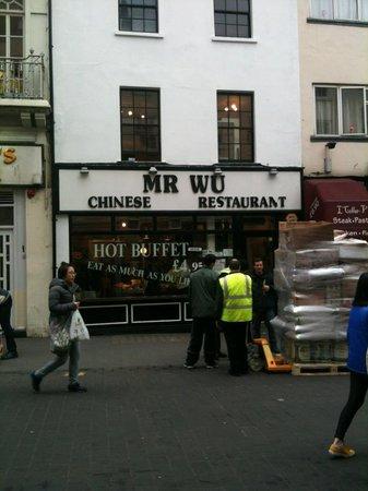 Mr Wu Chinese Restaurant London