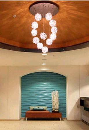 SpringHill Suites Tulsa: Spacious Contemporary Lobby