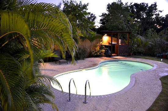 Surf 787 Guest Villa: Pool area