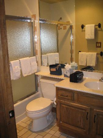 Borders Lodge: Master Bathroom