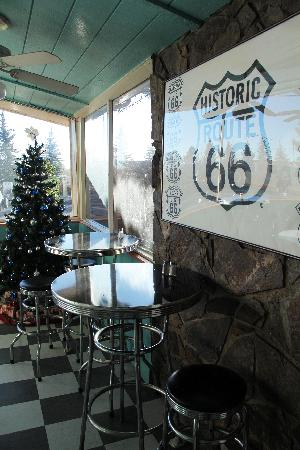 Hotel Aspen InnSuites Flagstaff / Grand Canyon: PJ's Cafe on Route 66