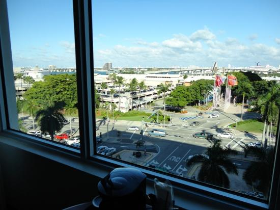 Holiday Inn Port of Miami Downtown: Vue depuis la chambre 710