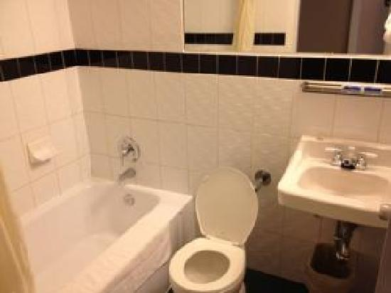 Airport Motor Inn: Standard Bathroom