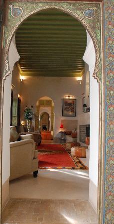 Riad Camilia: Suite 4 livingroom