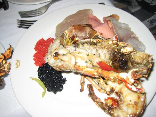ClubHotel Riu Bambu: The lobster for the New Years only