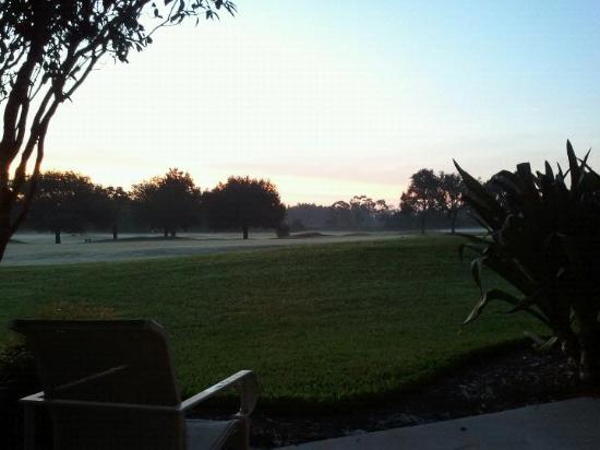 Villas of Grand Cypress : View of the 1st Fairway from our back porch every morning