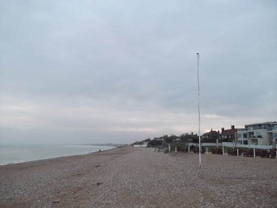 Bexhill-on-Sea, UK: On the beach