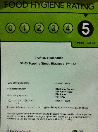 Truffles: 5 Star Rating