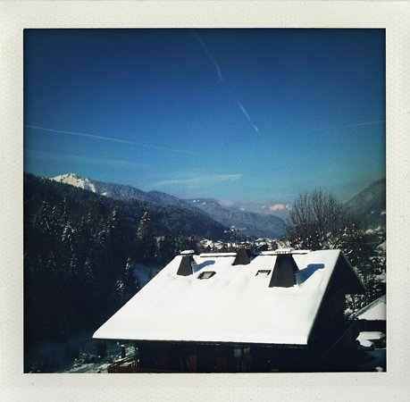 Riders Refuge - Chalet Emile : view