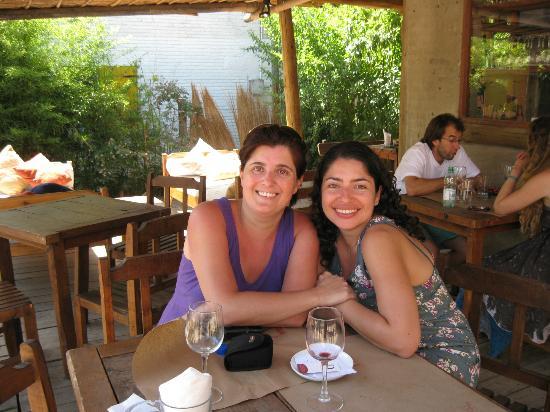 Delapanza : disfrutando un almuerzo de amigas!!