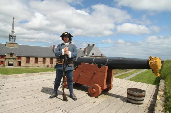 Louisbourg, Canada: le canonnier