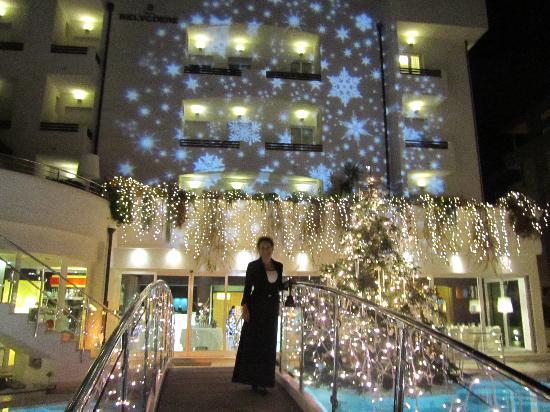 Hotel Belvedere: Le luci