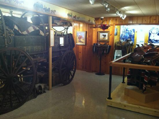Yellowstone County Museum: Cowboy Room