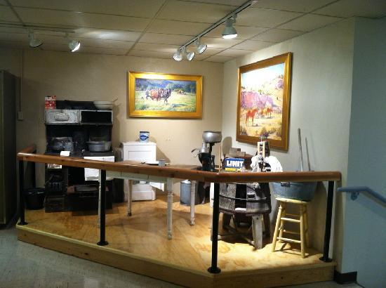 Yellowstone County Museum: Homestead Exhibit