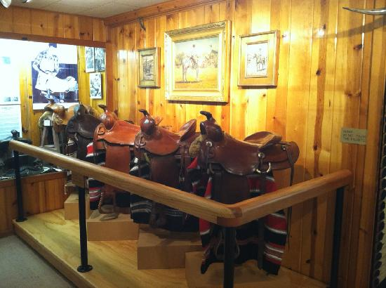 Yellowstone County Museum: Connolly Saddle Exhibit