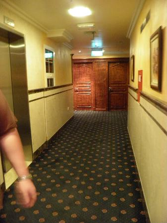 فندق يوريكا: coridoor outside room