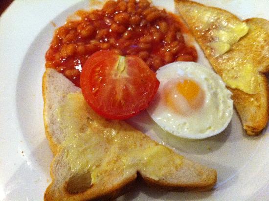 Hotel St. George: breakfast (vegetarian)