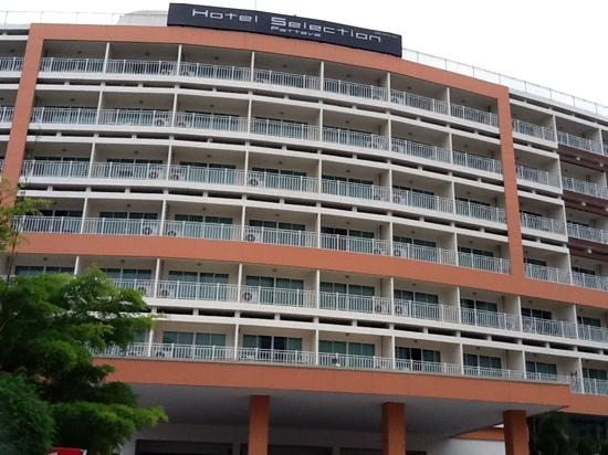 Hotel Selection Pattaya : hotel facade