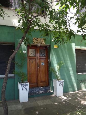 Open Bayres Hostel: Ein unscheinbarer Eingang