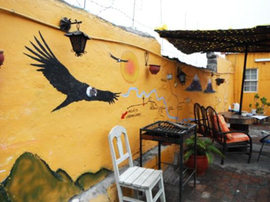 La Posada del Virrey: rooftop terrace