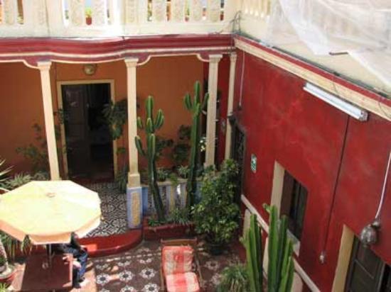 La Posada del Virrey: first-floor courtyard
