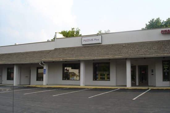 Beavercreek, OH: Puzzles Plus...unassuming outside but really cool inside.