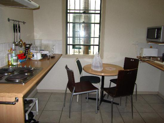 High Cross Park Lodge : guest kitchen