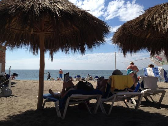 Hacienda Buenaventura Hotel & Mexican Charm All Inclusive: The beach club 2 blocks away but still very close and has food and drinks