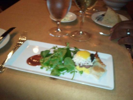 The Driskill: part of valentines day dinner: appetizer