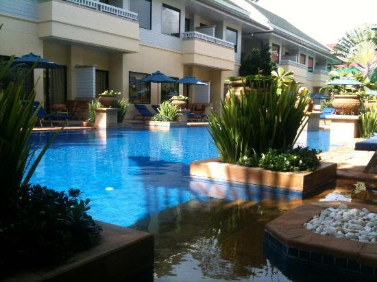 Holiday Inn Resort Phuket: pool view from room terrace