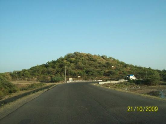 Jamnagar, Inde : Way to Sapada, Ganeshji Temple