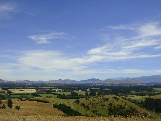 Kowhai Residential School of Riding Ltd: View from the top of the hill