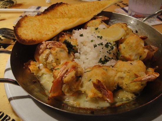 Bubba Gump Shrimp Co. Restaurant and Market: entree