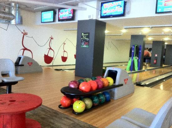Hotel Christiania: pas de ski??alors bowling!!