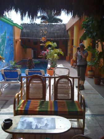 Casita de Maya: common area