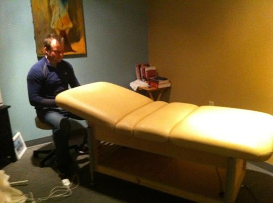 Evolve Spa has added new hydraulic lift tables to better serve their massage, Reiki and facial c