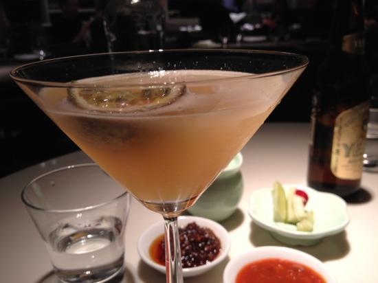 Yauatcha: martini