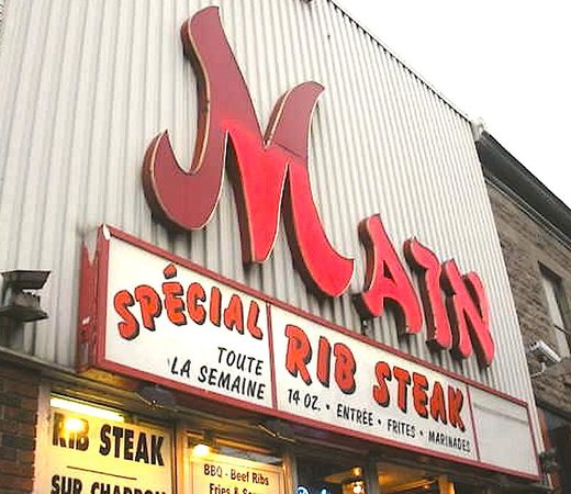 Photo of Diner The Main Deli Steak House at 3864 Boulevard St. Laurent, Montreal H2W 1Y2, Canada
