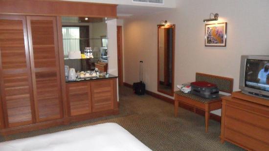 Imperial Hotel: view from window towards door