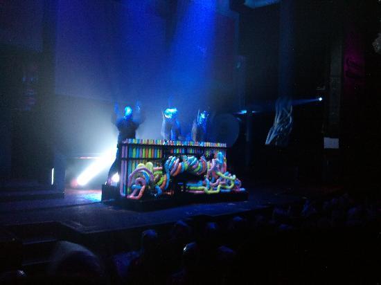 Blue Man Group: Showbühne
