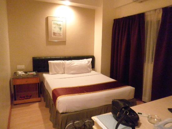 Silam Dynasty Hotel: quite spacious