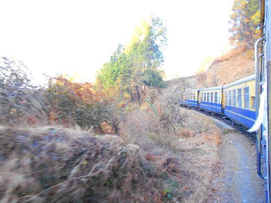 Shimla, Indien: Th Train Journey