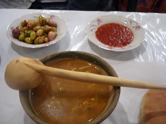 Riad Dar Khmissa: la soupe hummmmmmmmmmm