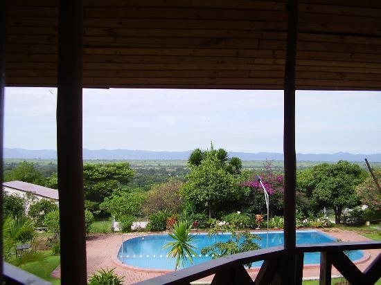 Mbeya, Tanzanie : Balcony view